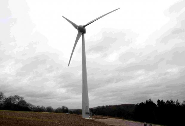 This Is Wiltshire: Villagers stand against Upton Scudamore turbine