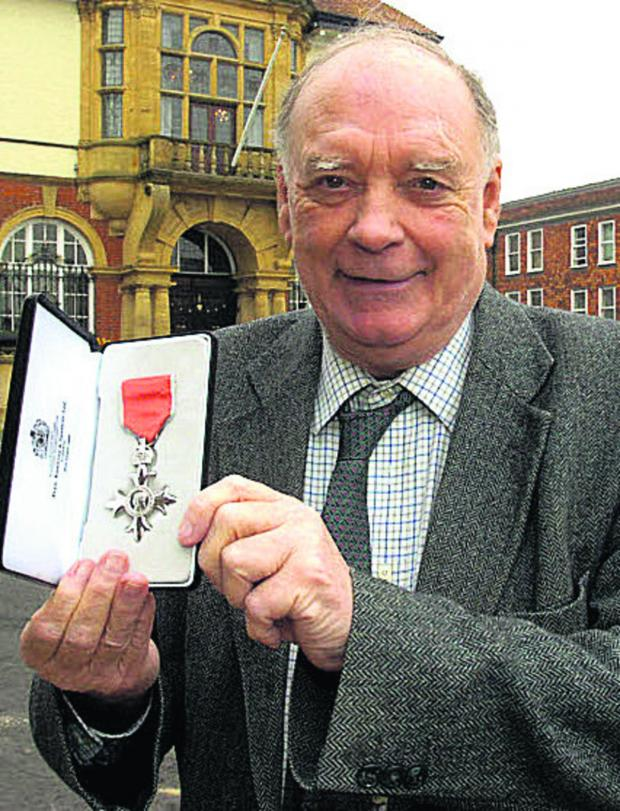 This Is Wiltshire: Coun Nick Fogg MBE