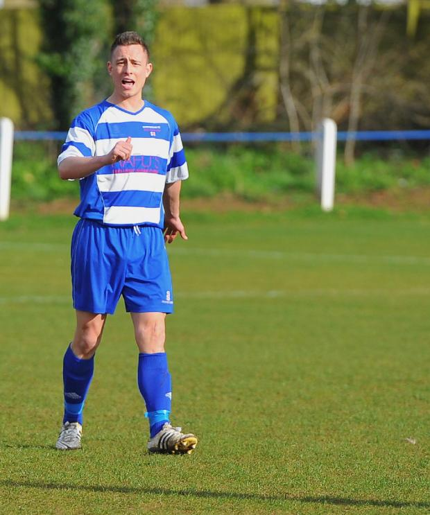 This Is Wiltshire: Shrivenham manager Sam Collier