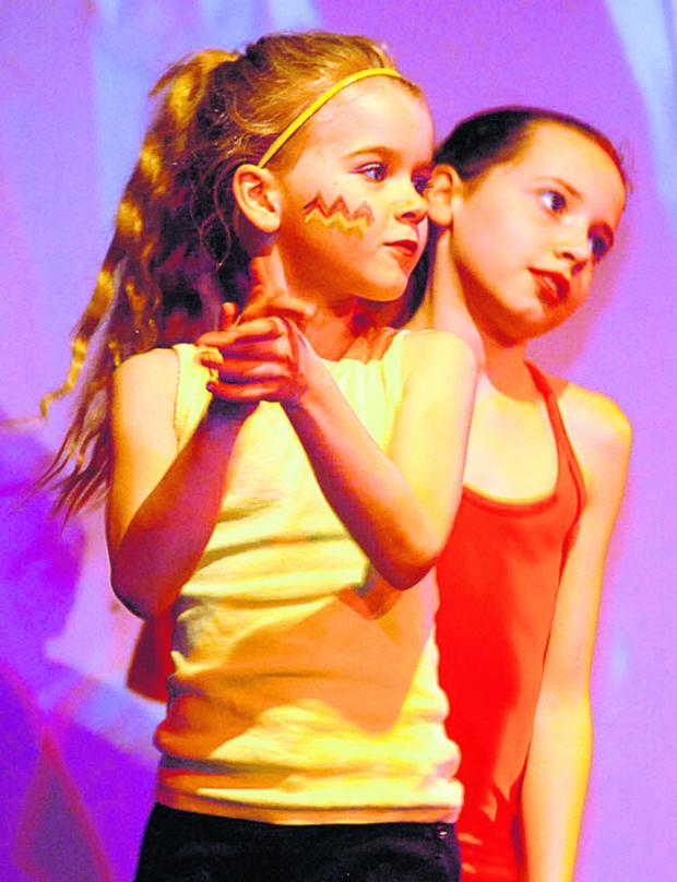 This Is Wiltshire: Easton Royal pupils take part in Marlborough Area Dance Festival at The Theatre on the Hill