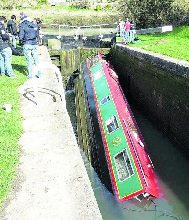 This Is Wiltshire: Boaters throughout Wiltshire are likely to be hit by the closure of the Kennet and Avon Canal due to the capsizing of a narrowboat near