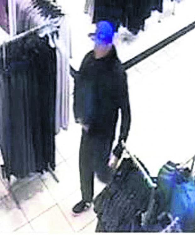 This Is Wiltshire: Do you know this shoplifter?