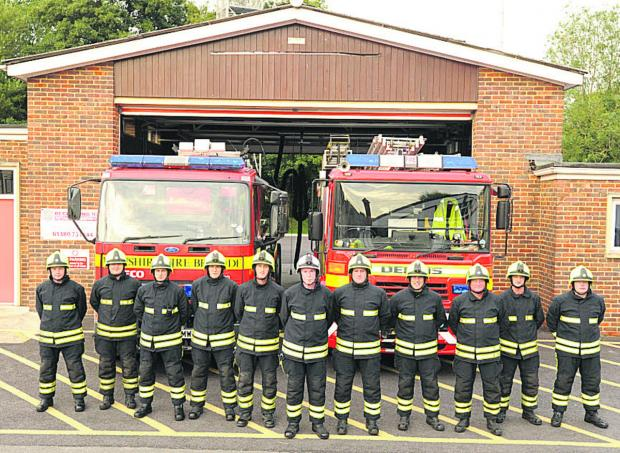 This Is Wiltshire: Pewsey Fire Station