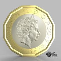 This Is Wiltshire: The new one pound coin announced by the Government will be the most secure coin in circulation in the world (HM Treasury/PA)