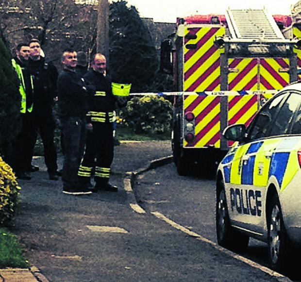 This Is Wiltshire: More than 1,000 people were without electricity in Devizes after a sub-station fire in Avon Road. Pictures by Victoria Thomason