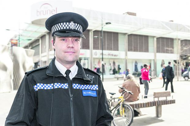 This Is Wiltshire: Inspector Paul Saunders is now leading the central sector  police team