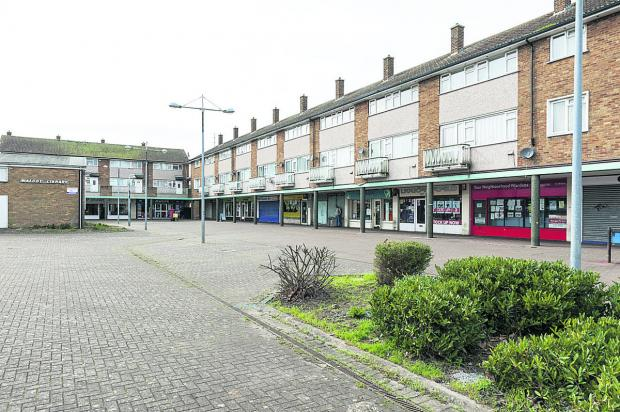 This Is Wiltshire: Proposals have been lodged for the regeneration of Sussex Square. Picture: ALEX SKENNERTON