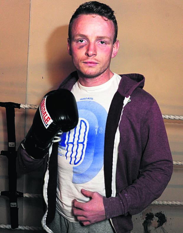 This Is Wiltshire: Dan Carr will finally receive his Southern Area Best Supporting Boxer award tonight