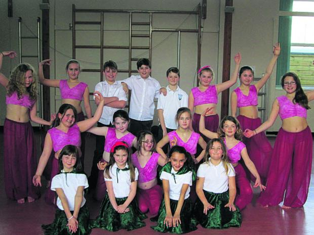 This Is Wiltshire: Pupils at the dance festival