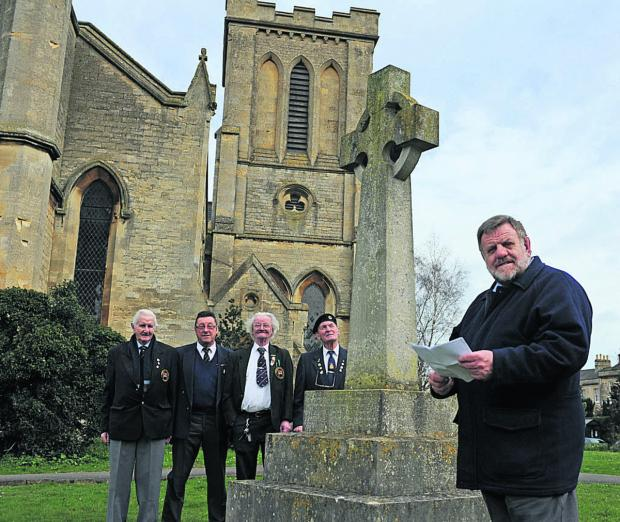 This Is Wiltshire: Grant will give Trowbridge war memorial a smart new look