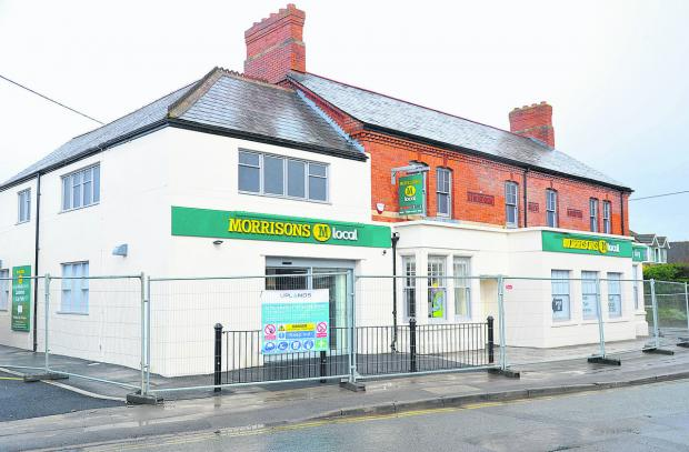 This Is Wiltshire: The new Morrisons store on the site of the former Three Tuns