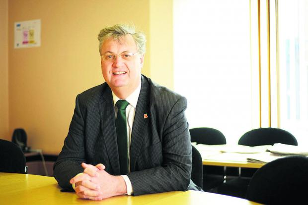 This Is Wiltshire: Council leader David Renard in the hot seat