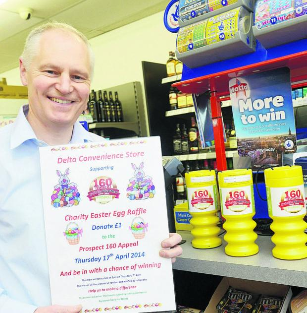 This Is Wiltshire: Shops go eggstra mile to aid appeal