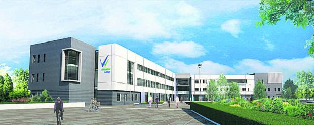 This Is Wiltshire: An artist's impression of the north view of the new campus