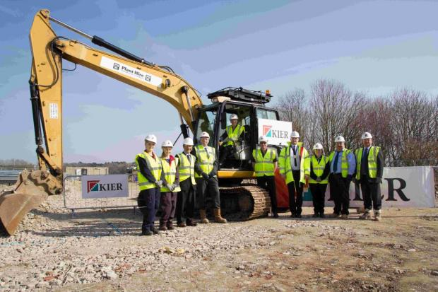 This Is Wiltshire: Calne students and builders ride