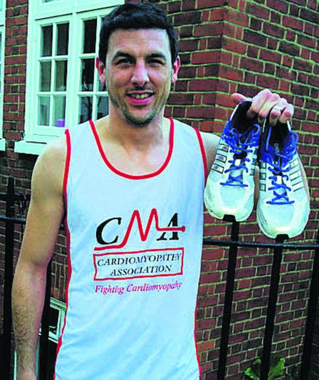 This Is Wiltshire: Tom Mason is to run the London Marathon on April 13