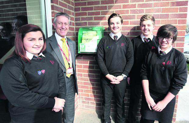 This Is Wiltshire: Lavington School to give gift of life to i