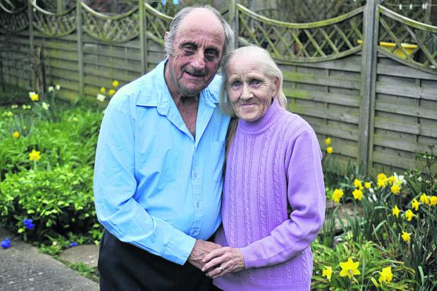 This Is Wiltshire: Barbara and John Harris were married 50 years ago today