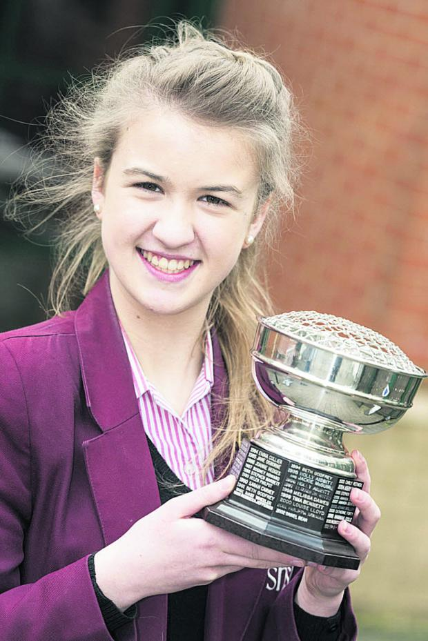 This Is Wiltshire: Charlotte Corderoy, winner of the Songs from Shows and Films section