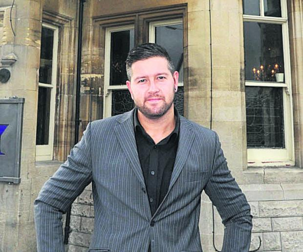 This Is Wiltshire: Chippenham restaurateur Chris Bonsor is president of the town's chamber of commerce