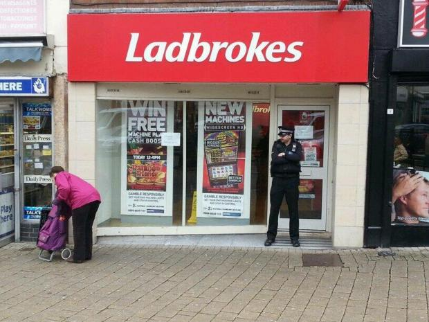 This Is Wiltshire: Man hands himself in following robbery at Swindon bookmakers
