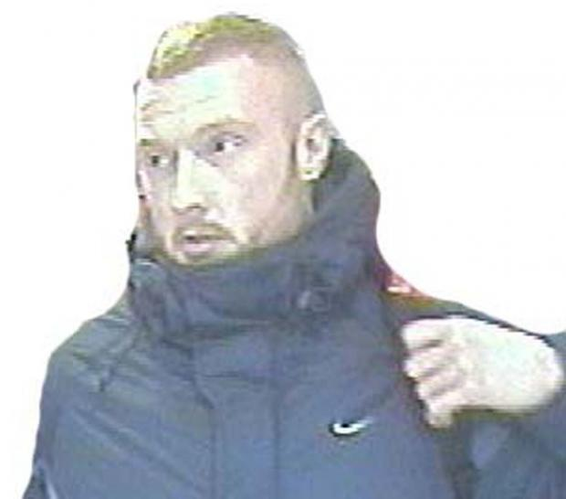 This Is Wiltshire: UPDATE: Police release CCTV of armed robbery suspect