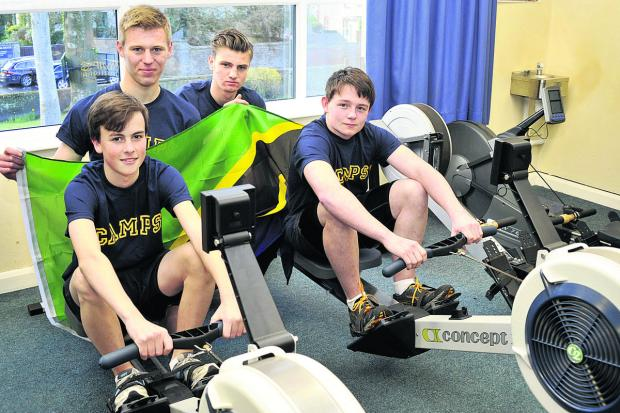 This Is Wiltshire: An oarsome row to fund Africa trip