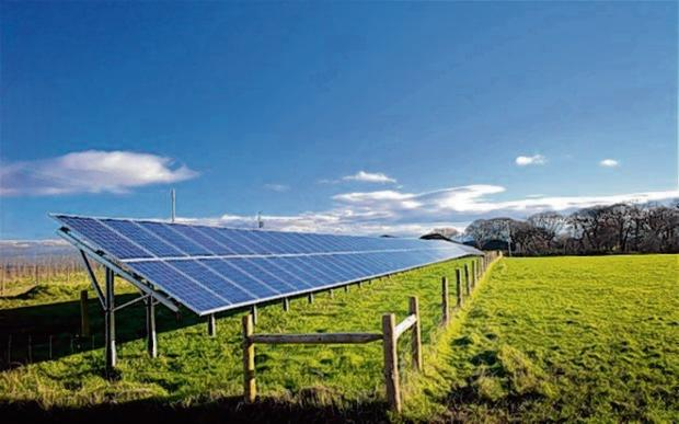 This Is Wiltshire: The area has recently seen a solar goldrush