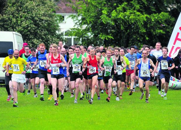 This Is Wiltshire: Lethbridge 10k in action