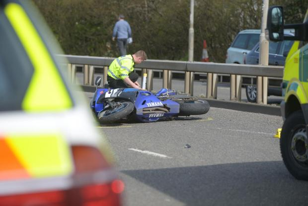This Is Wiltshire: Collision investigators survey the scene