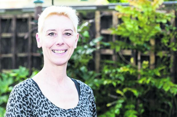 This Is Wiltshire: Kate Linnegar, secretary of the Swindon People's Assembly. Picture: ALEX SKENNERTON