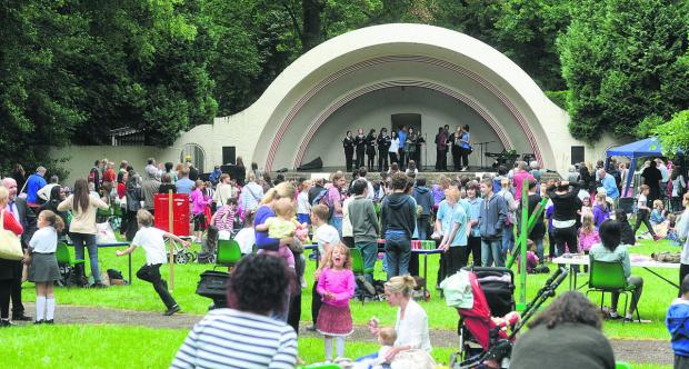 This Is Wiltshire: Last year's Little Big Festival at the Town Gardens Bowl