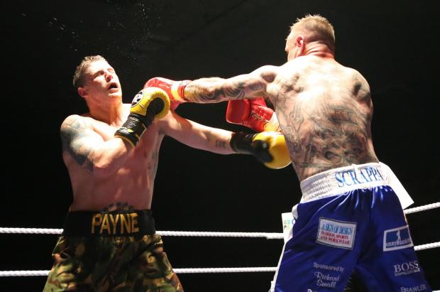 This Is Wiltshire: Action from Saturday night's boxing card at the Oasis