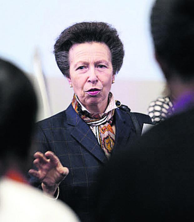This Is Wiltshire: Princess Anne is due in Devizes at noon