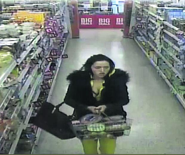 This Is Wiltshire: The woman police wish to identify following the theft of meat from the Co-op in Eldene on February 7