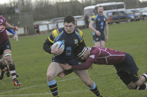 This Is Wiltshire: Jackson Szabo scored four tries for Trowbridge