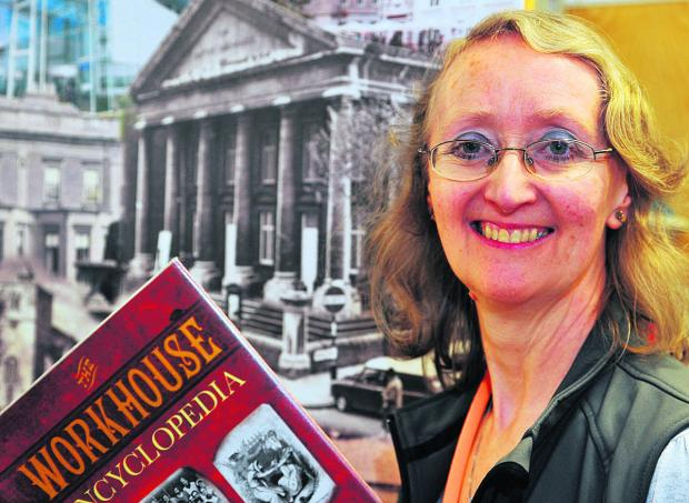 This Is Wiltshire: Margaret Moles, an archivist from the Swindon History Centre, who gave a talk at Swindon Central Library on Wiltshire's Victorian workhouses