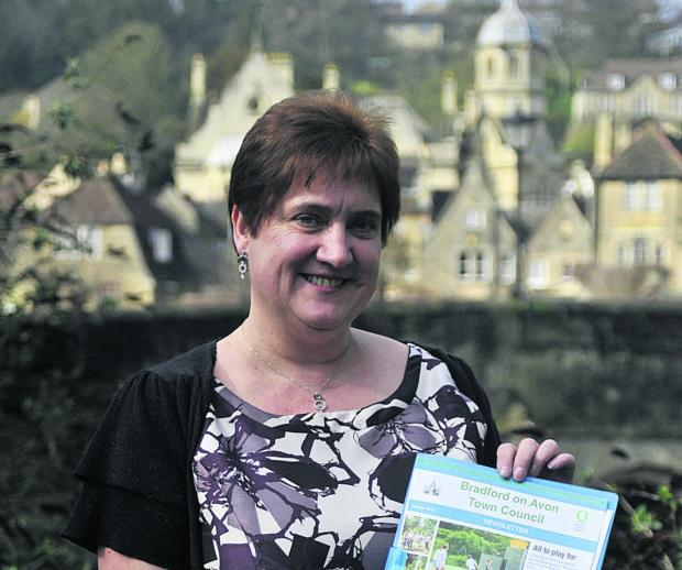 This Is Wiltshire: Sandra Bartlett takes over the duties from Diane Holmes