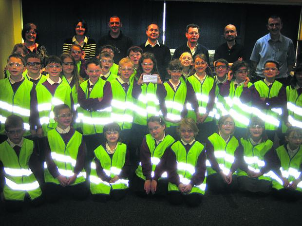 This Is Wiltshire: The pupils who paid a visit to Cross Manufacturing to learn about technology
