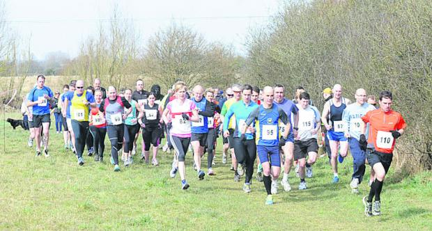 This Is Wiltshire: Runners taking part in last year's Trowbridge Lions 10k event