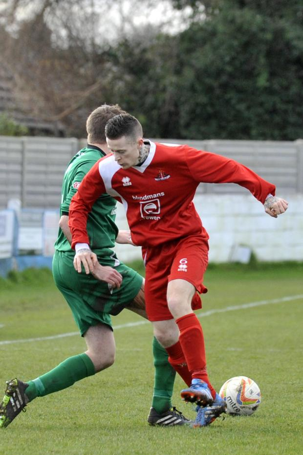 This Is Wiltshire: Jon Vance scored Frome's winner from the penalty spot last night