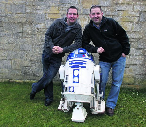 This Is Wiltshire: Anthony Milner, left, and Martin Coates, right, who are settting up Chippenham's first sci-fi event