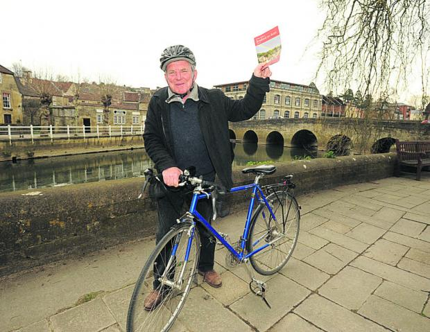 This Is Wiltshire: Bradford on Avon mayor John Potter is excited about the Tour of Britain coming to town