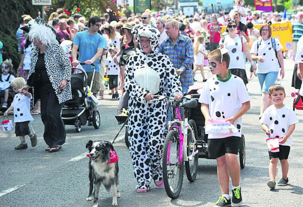 This Is Wiltshire: Crowds flocked to last year's Wroughton Carnival
