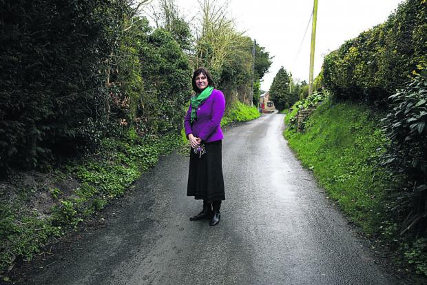 This Is Wiltshire: Claire Perry in Ball Road