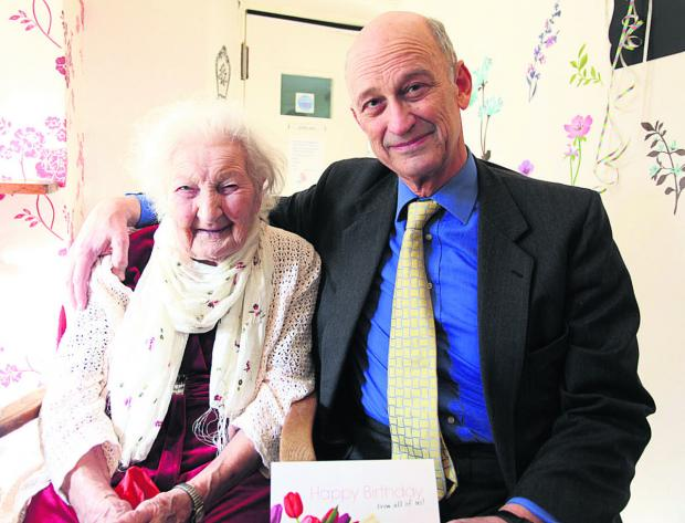 This Is Wiltshire: Winnie girl joy at 102