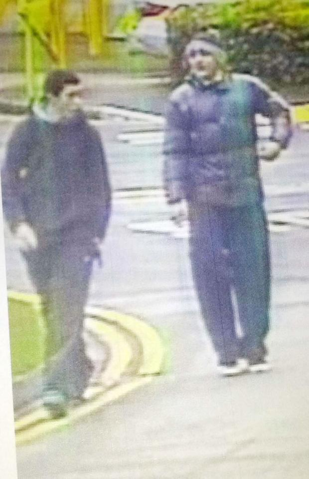 This Is Wiltshire: Police wish to speak to this duo following the theft of a mountain bike