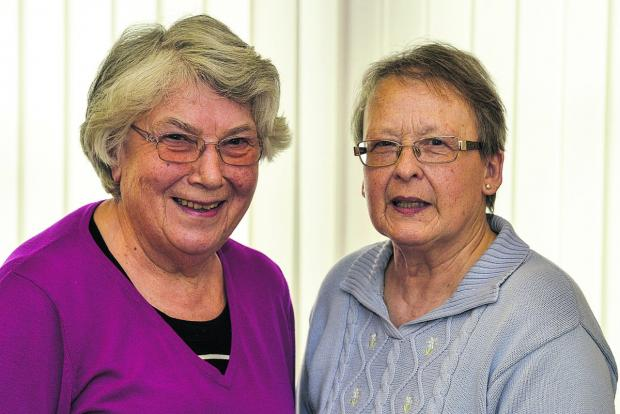 This Is Wiltshire: Anne Slater, left, and June Kennedy are planning to hold a bring and buy sale to raise money for the Brighter Futures appeal