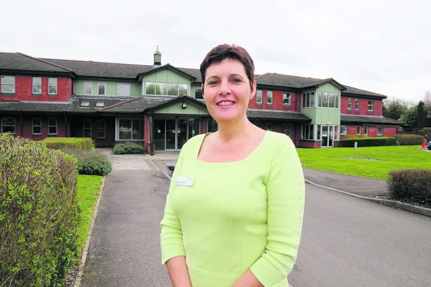 This Is Wiltshire: Chief executive of Prospect Hospice Angela Jordan                                  Picture: stuart harrison