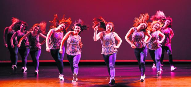 This Is Wiltshire: The spirit of the dance, plus gymnastic flexibility, was energetically demonstrated by Swindon Academy students in a variety of routines at the Wyvern Theatre